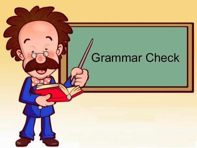 grammar checkers