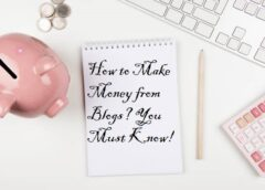 How to Make Money from Blogs